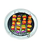 CHEFMAN Gas Grill Indoor Smokeless Barbeque Non-Stick Coating Grill -Black