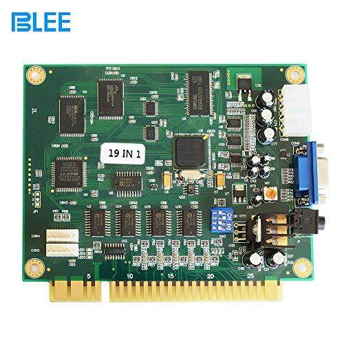 BLEE Classical Arcade Board 19 in 1 Arcade PCB Jamma Board Horizontal Jamma Multi Game CGA VGA Output