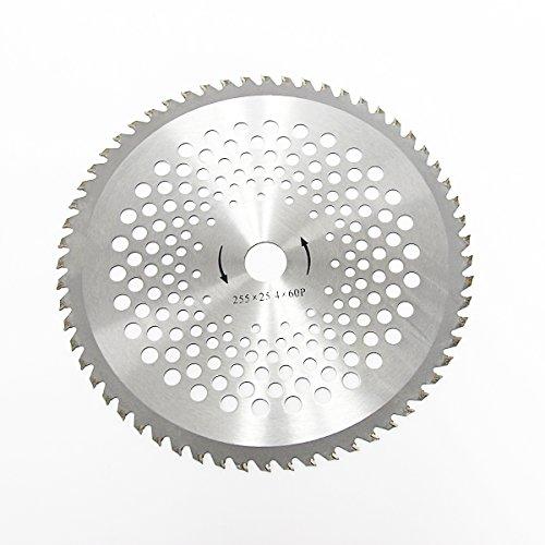 Wisamic 60 Zahnblatt Stahl Aluminiumbeschichtet Schneidblatt Klinge Mähmesser Motorsense Freischneider