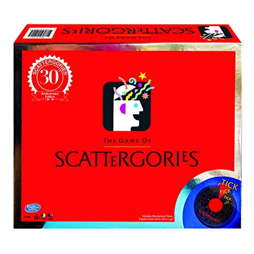 Winning Moves Scattergories 30th Anniversary Edition, Brown