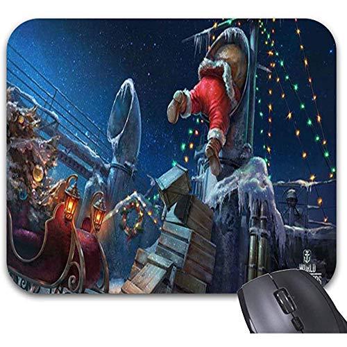 Mousepad Weihnachtsmann-Weihnachtssachen Mauspads - Büro-Stilvolles Zubehör 25X30Cm
