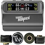 Minder Research - TPMS-TRL-4 TireMinder Solar Powered Trailer TPMS, 4 Tire Kit