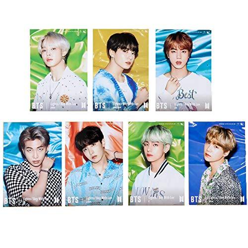 Bosunshine – BTS Fotokarten, ein Set, BTS Albumkarten, bunt, BTS Lomo Karten Sammlungen für BTS 8.8 * 12.8cm 02
