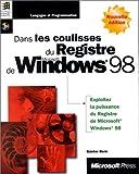 Dans les coulisses du registre de Windows 98