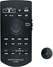 Remote Control CXE5117 CD-R33 with Coin Battery for Pioneer AVH-X8800BT AVIC-5200NEX AVIC-6200NEX AVIC-7100NEX AVIC-8100NE...