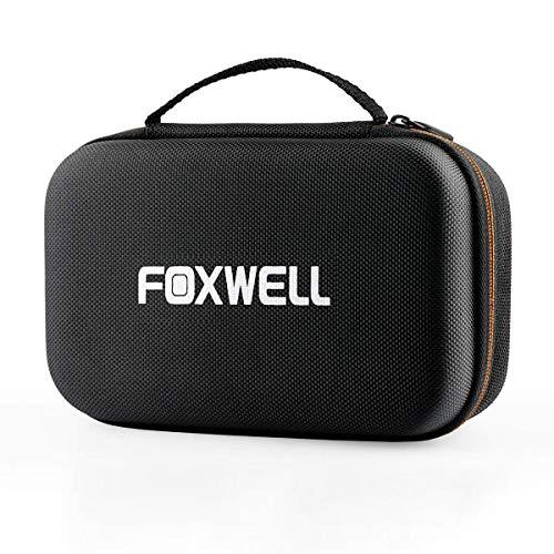 FOXWELL Original Protective Carring Storage Bag for NT201 NT200C AL319 Launch V+ V Plus OBD2 OBD II Automotive Code Reader Hard Case for OM126P OM126 NX501 Car Diagnostic Scan Tool