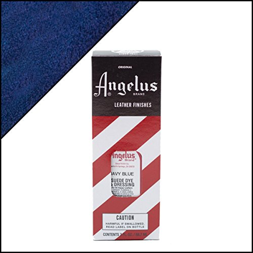 Angelus Suede Dye 3 Oz. (Navy Blue)