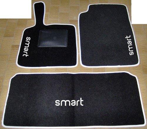 SonCar Kit Tapis De Voiture Avec Tapis Pour Le Coffre Kit Complet Sur Mesure En Tapis Avec Broderie