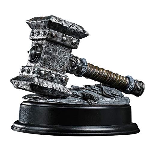 Dimensione del giocattolo: circa 18 cm di lunghezza, 15 cm di diametro. Materiale del modello: plastica PVC. Modello di arma World of Warcraft - realizzato in materiale PVC di alta qualità, molto adatto alla scultura, solido e realistico. Regali squi...
