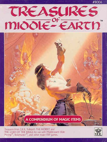 Treasures of Middle-Earth (Middle Earth Game Rules, Intermediate Fantasy Role Playing, Stock No. 8006)