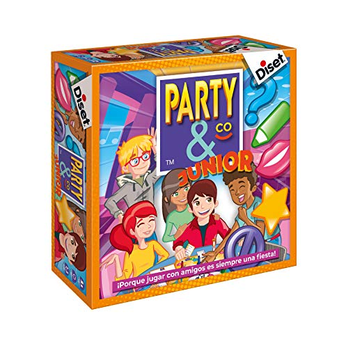 Diset Party & Co Spiel Party & Co Junior Sin Talla bunt