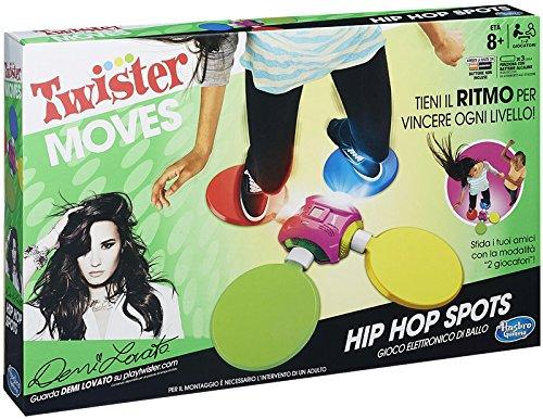 Hasbro B2221 Twister Hip Hop Spots Gioco Elettronico