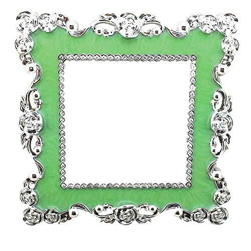 JoyRolly Home Switch Square Frame 3D Aufkleber Wohnzimmer Dekoration Aufkleber - Himmelblau Fluorescent Green
