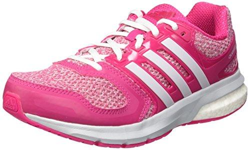 Adidas Questar W, Botas de fútbol para Mujer, Rosa/Blanco (Eqtros/Ftwbla/Gritra), 38 EU