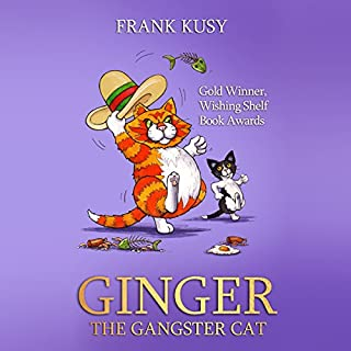 Ginger the Gangster Cat audiobook cover art
