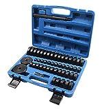 SLPRO 50 TLG. Roulement de roue Disques de montage Joints toriques Radial Douilles Coques Caoutchouc Extracteur Presseur Outil Sertissage 18-65 mm