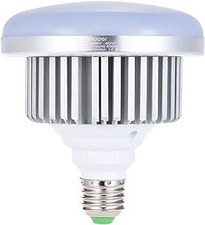 Andoer E27 40W Bombilla LED de bajo consumo 5500K luz blanca suave para Photo Studio Video Home Iluminación comercial