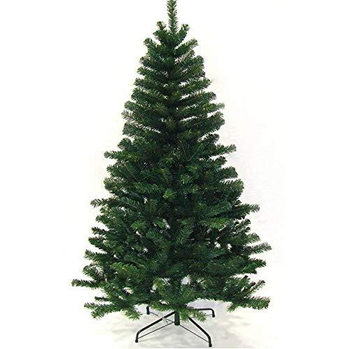 VINGO Künstlicher Weihnachtsbaum 220 cm ca.1000 Grün PVC Weihnachtsbäume mit Metallständer Kunststoff Nadeln Weihnachten Deko Außen Weihnachtsdekoration
