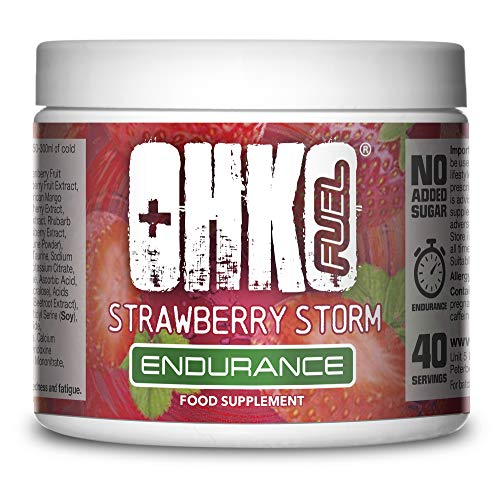 Endurance & Energy Drink Supplement Powder | Range of Delicious Flavours | The Ultimate Gaming Supplements from OHKO Fuel (Strawberry Storm)