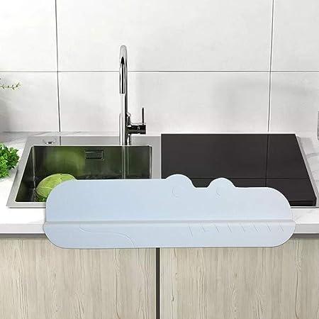 Sink Splash Guard Elegant Kitchen Washing Baffle Prevent Water Splash Guard Board Premium Silicone Water Splash Guard for Kitchen Bathroom