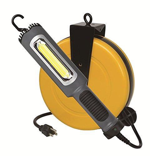 Professional Auto Repair Drop Lighting 8 Watt Bright 900 Lumen COB LED Cord Reel Garage Shop Work Light