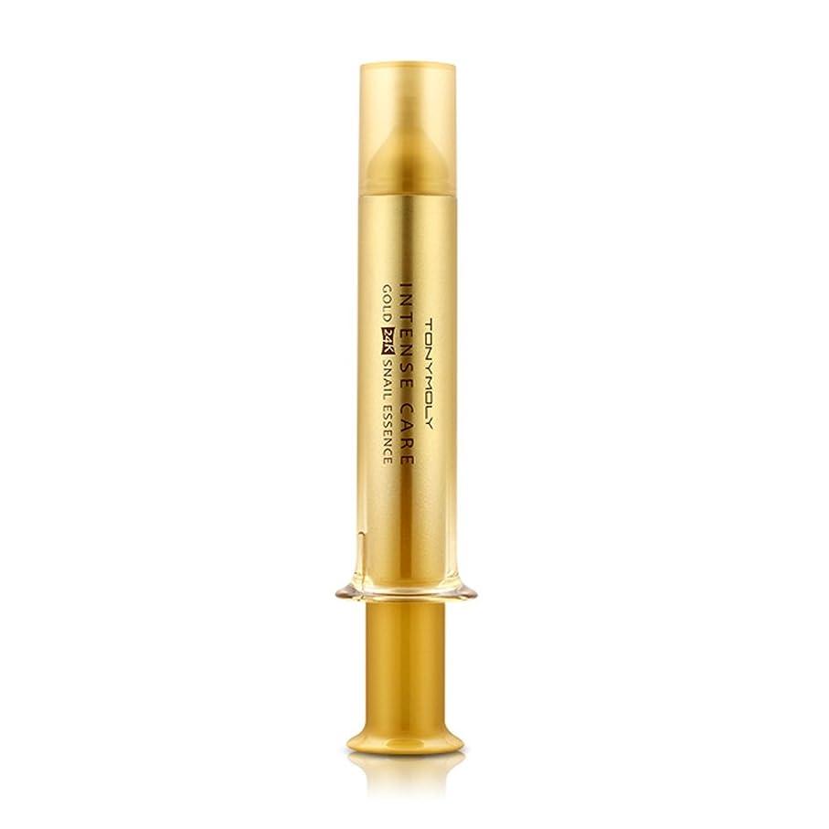 殺人家族接続TONYMOLY INTENSE CARE Gold 24K Snail Essence 15ml