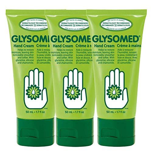 Glysomed Hand Cream Trio Pack (3 x Glysomed Hand Cream Mini Travel Size Tube 50mL / 1.7 fl oz) by Glysomed