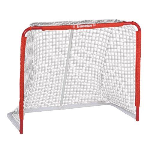 FRANKLIN - Streethockey-Tor SX Pro NHL Tournament I Outdoor-Tor I Tor met stalen frame I Tuin Puck-Tor I Tor voor hockeyballen & Pucks I Streethockey-Training I Feldhockey I Indoor-Tor I Lacrosse - Rood