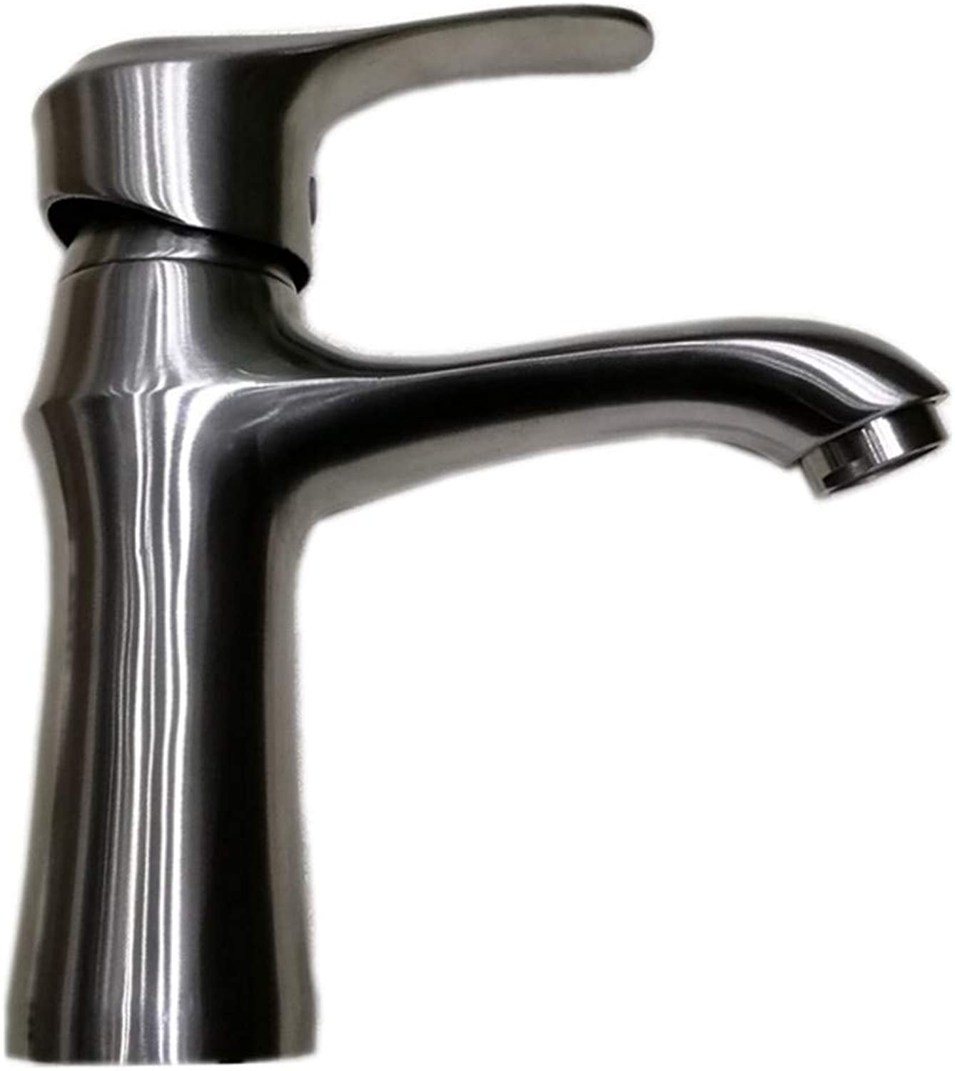 Kitchen Sink Taps Bathroom Taps Stainless Steel Faucet Investment Casting Drawing Cold and Hot Basin Faucet Bathroom Washbasin Mixing Faucet