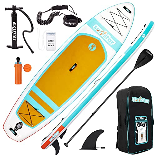 surfstar Inflatable Stand Up Paddle Board,...