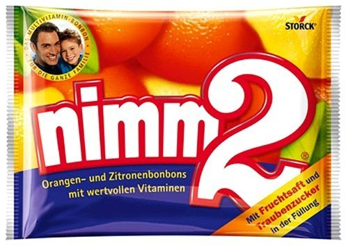 Nimm2 Multivitamin Hard Candy - 145 grams (Pack of 6)