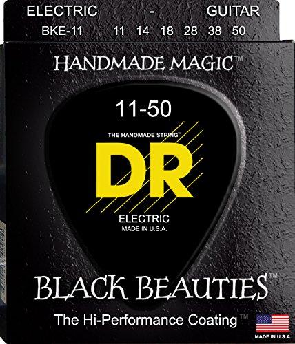 DR E EXBK BKE-11 Extra Black Beautie Heavy Saite