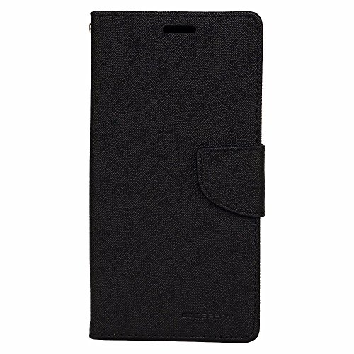 Avzax Premium Leather Flip Case Cover with Magnetic Closure for Gionee Elife S5.5 (Black)