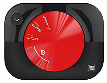 Dual Electronics XGPS160 Multipurpose Universal 5 Device Bluetooth GPS Receiver with Wide Area Augmentation System and Portable Attachment