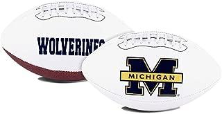 NCAA Signature Full Size Football (All Team Options)