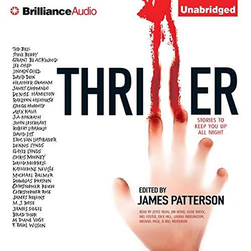 Thriller cover art
