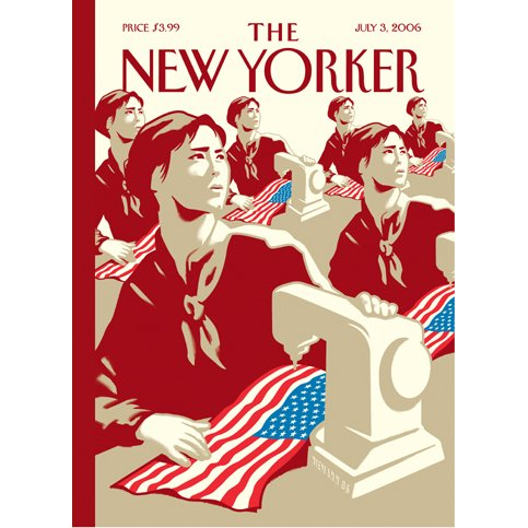 The New Yorker (July 3, 2006) cover art