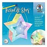 Twinkle Star - Polvo de hadas (19,3 x 18,3 x 8 cm, 1 farolillo, cartón fotográfico de...