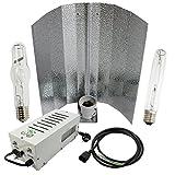 Cultivalley - Kit per coltivazione professionale da 250 W, plug & play, con lampadina ad alta pressione di sodio NDL HPS per fiori e lampade alogene a vapore in metallo MH