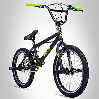 Bergsteiger Ohio 20 Zoll BMX, 360° Rotor-System, Freestyle, 4 Stahl Pegs, Kettenschutz, Freilauf