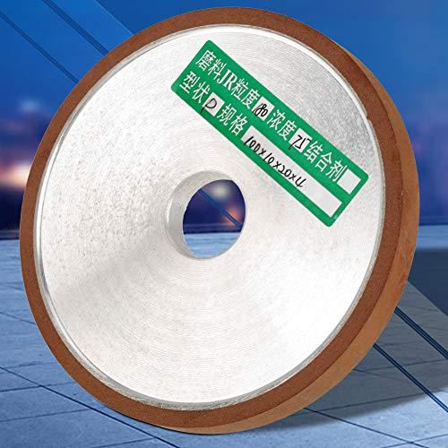 Hochfeste Schleifscheibe, Diamantschleifscheibe Schleifscheibenschneider, gezahntes Schleifverfahren für Schneidwerkzeug Polierkorn 180