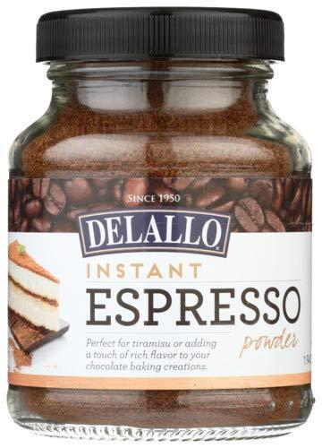DeLallo Instant Espresso Powder, 1.94 Ounce (Pack of 6)
