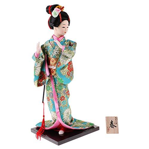 Sharplace Japanische Geisha Puppen, Auswählbar - # 4