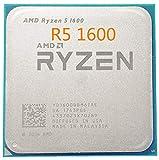 Ryzen 5 1600 R5 1600 3.2 GHz Six-Core Twelve Thread 65W CPU Processor YD1600BBM6IAE Socket AM4