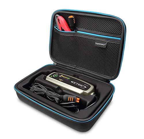 Supremery Tasche für CTEK MXS 3.8 Batterieladegerät Case Hülle Tragetasche Eva Hardcase Koffer mit Tragegriff