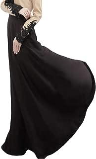 Women Malaysia Muslim Gown Fashion Lace Long Sleeve Maxi Dress