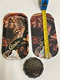 Metal Rolling Tray Kobe Inspired Jersey Numbers 8 & 24 with Magnetic Cover 8x4