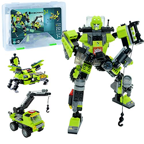 Robot STEM Toy | 3 in 1 Fun Creative Set | Construction Building Toys for Boys and Girls Ages 6-14 Years Old | Best Toy Gift for Kids | Free Poster Kit Included