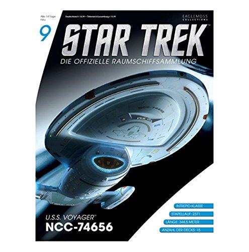 Star Trek - Die offizielle Raumschiffsammlung #9 - USS Voyager NCC- 74656 (Raumschiff & Magazin)