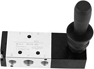 Manual Valve, Pneumatic Control Tool 5 Port 3 Position Hand Lever Valve 0~0.8Mpa(4H230-08)